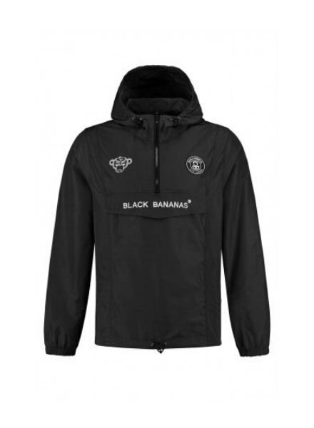 Black Bananas Anorak Windbreaker KSS2001  zwart
