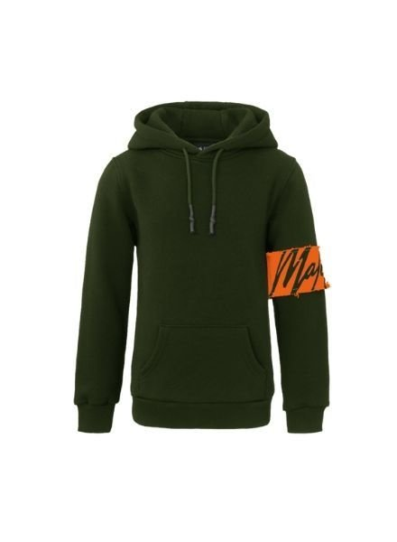 Malelions Hoody Captain  Army Green