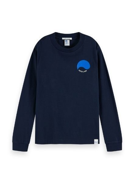 Scotch Shrunk Longsleeve placed artworks 154831