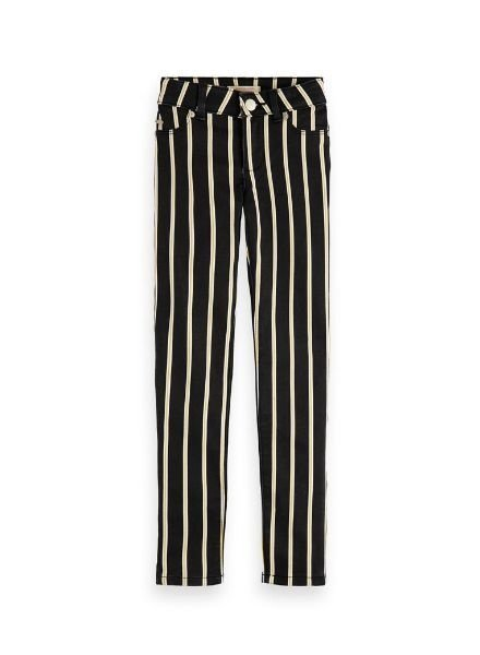 Scotch Rebelle Broek skinny stripes 155202 B