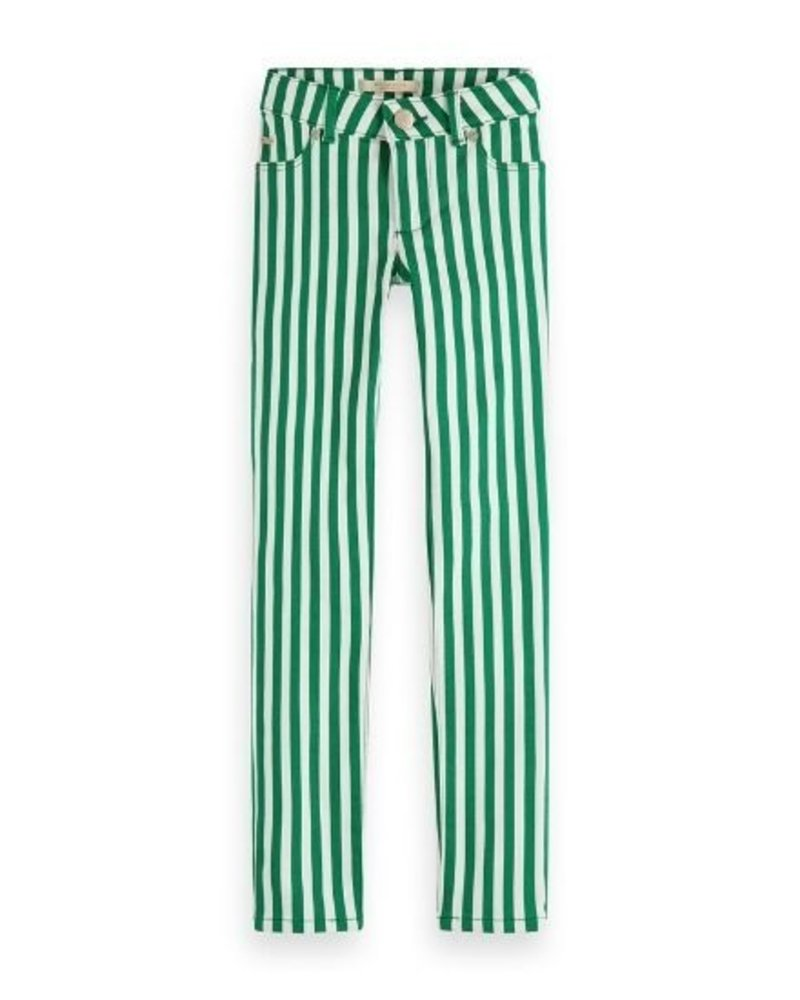 Scotch Rebelle Broek skinny stripes 155202 G