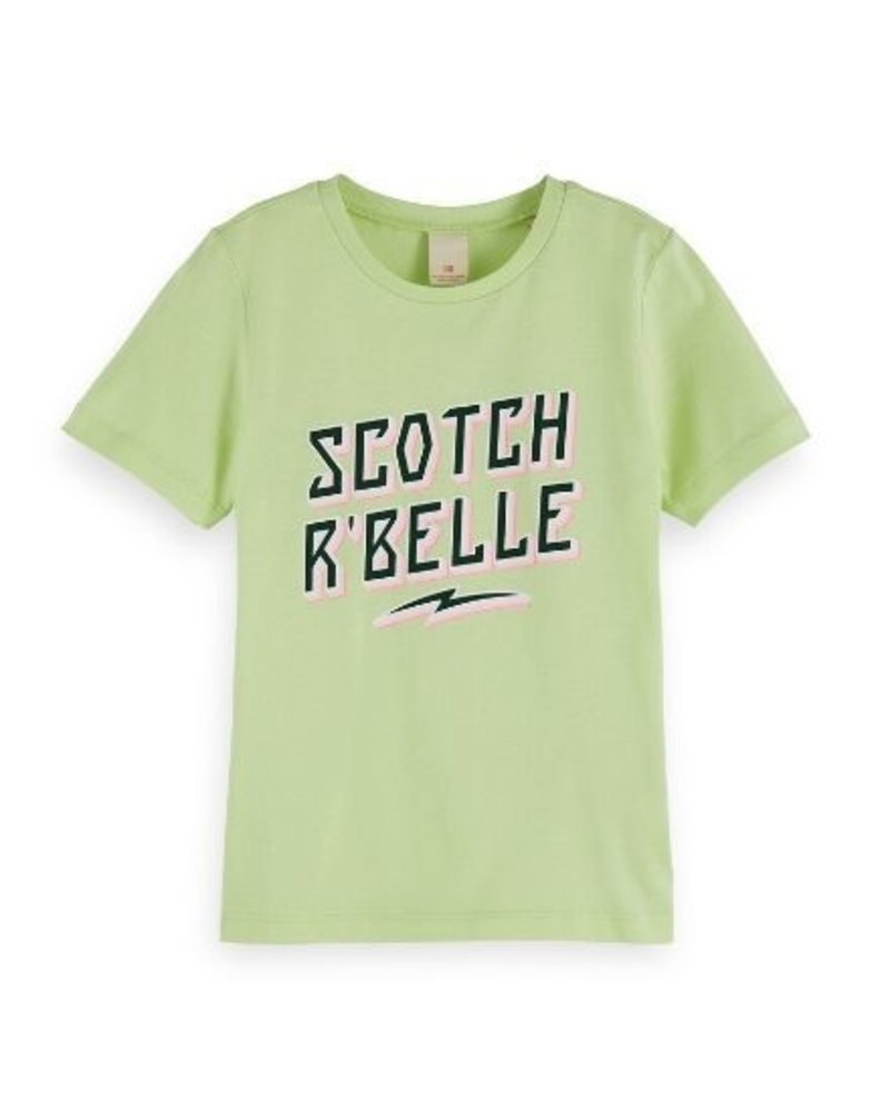 Scotch Rebelle T-shirt relaxed fit with artworks 155677