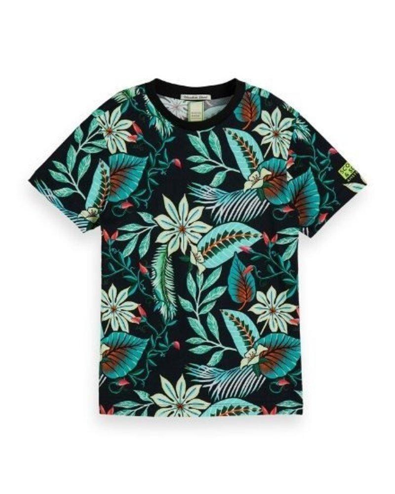 Scotch Shrunk T-shirt AOP 154878