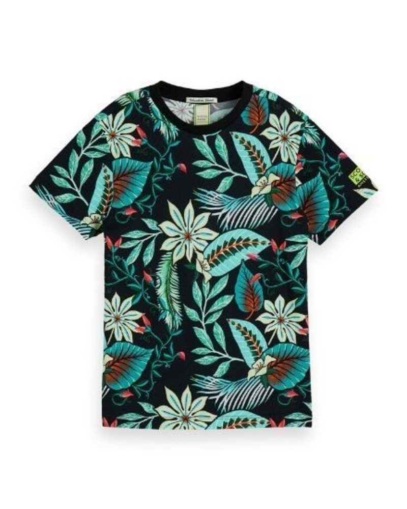 Scotch & Soda T-shirt AOP 154878
