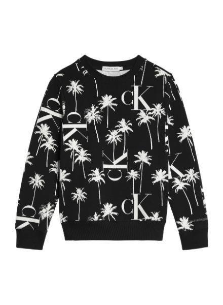 Calvin Klein PALM AOP Sweatshirt IB0IB004680GJ