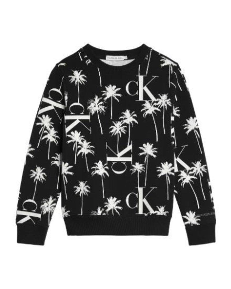 Calvin Klein Calvin Klein PALM AOP Sweatshirt