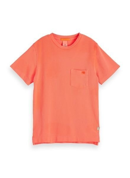 Scotch Shrunk T-shirts pique 154838 o