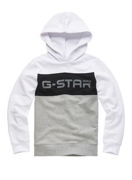 G-Star Hoody wit/grijs