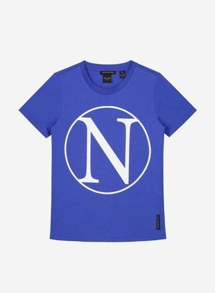 Nik & Nik Kim N T-Shirt blauw