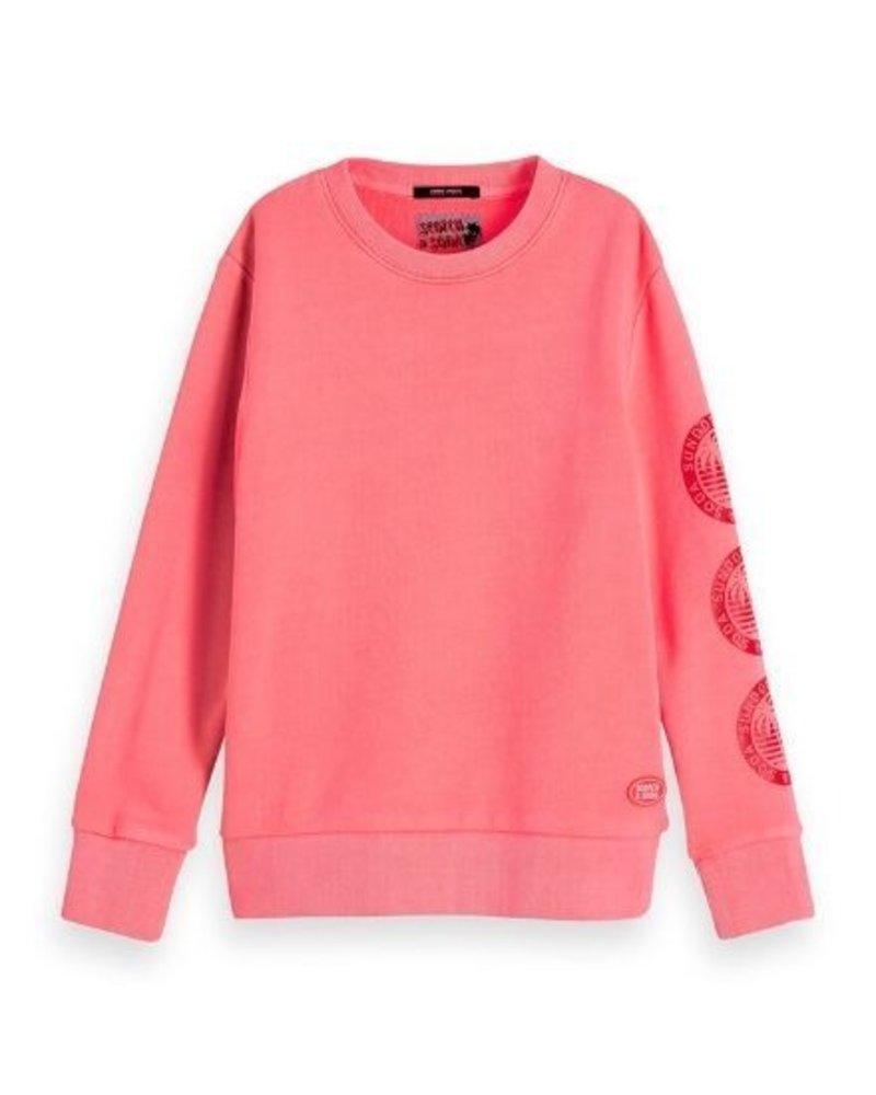 Scotch Shrunk Sweater artworks at sleeve 157448
