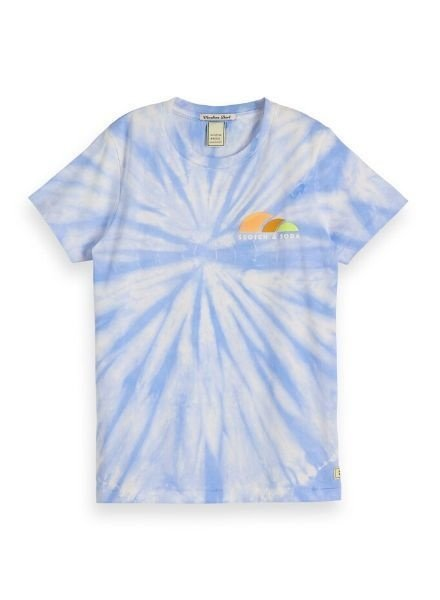 Scotch Shrunk T-shirt tie-dye and artworks 154848