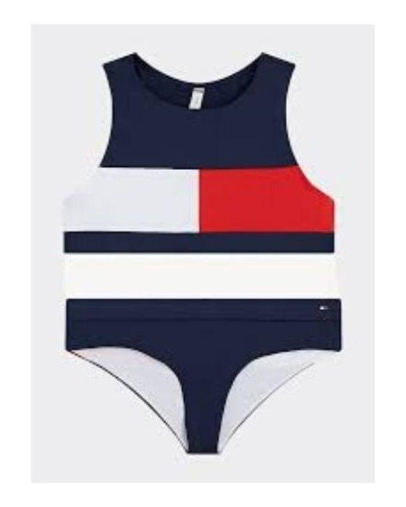 Tommy Hilfiger Bikini CROP Top UG0UG00313CUN