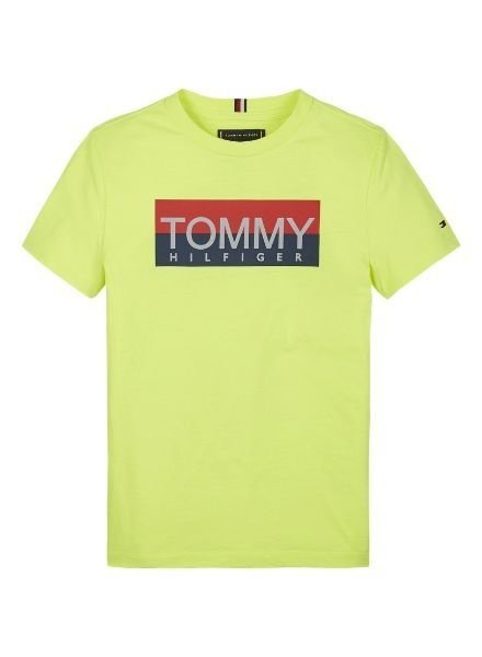 Tommy Hilfiger T-shirt reflective Hilfiger geel