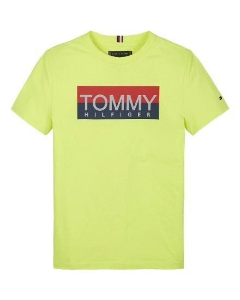 Tommy Hilfiger Tommy Hilfiger T-shirt reflective Hilfiger geel