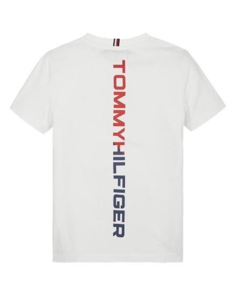 Tommy Hilfiger Tommy Hilfiger T-shirt reflective Hilfiger wit