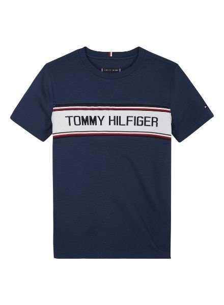Tommy Hilfiger T-shirt TH INTARSIA   KB0KB05633C87