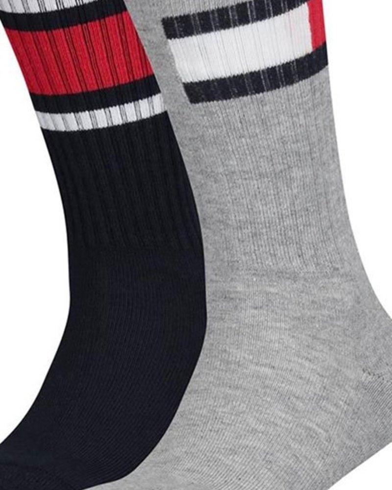 Tommy Hilfiger Sokken 2-pack Flag grey
