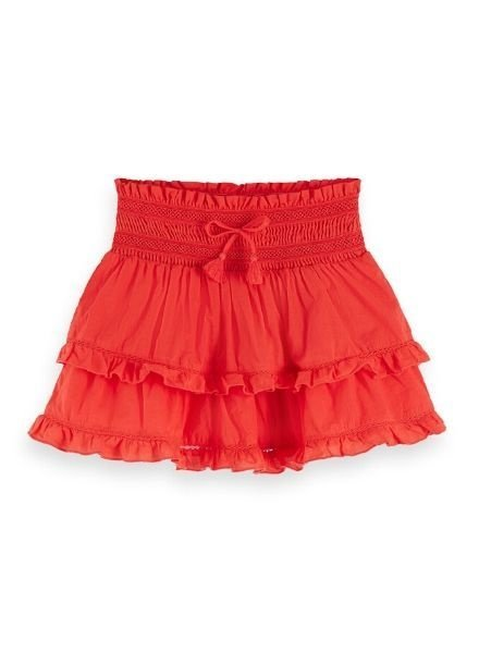 Scotch Rebelle Rok mini length ruffle skirt 156544