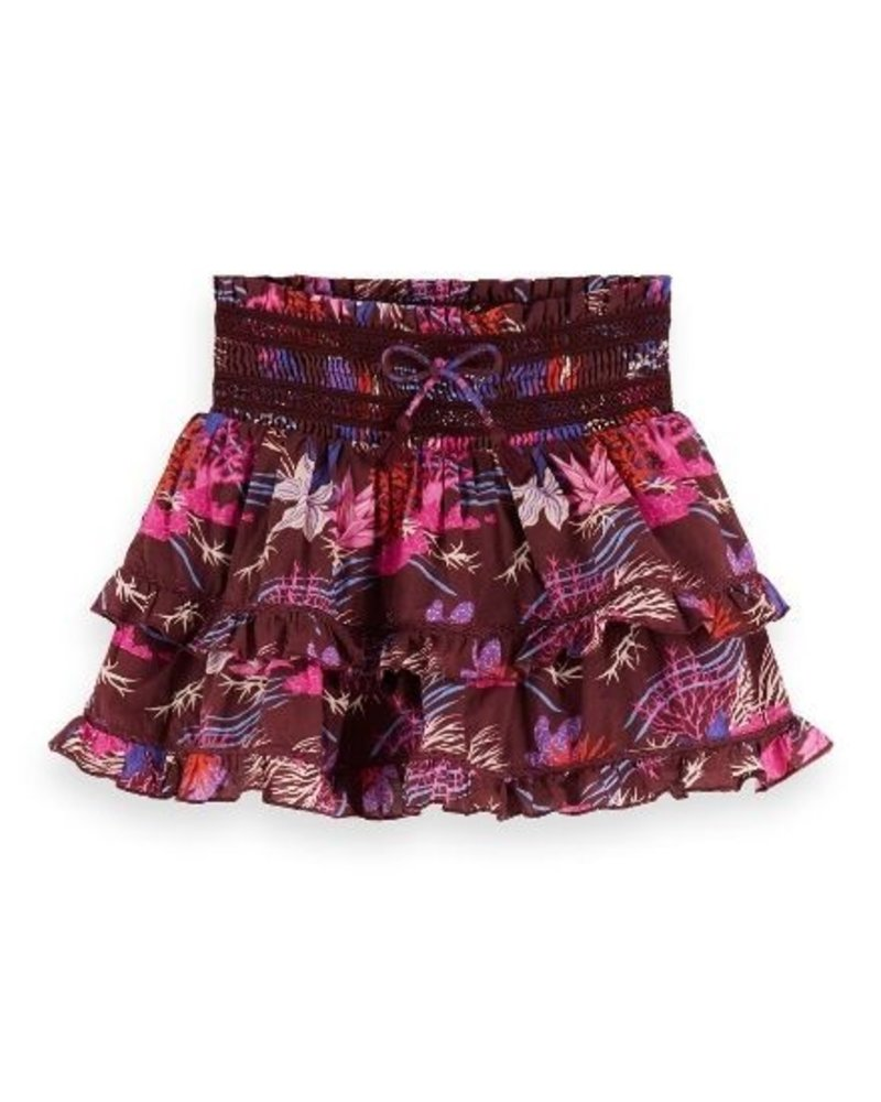 Scotch Rebelle Rok with inner shorts  AOP155367 Multi 104