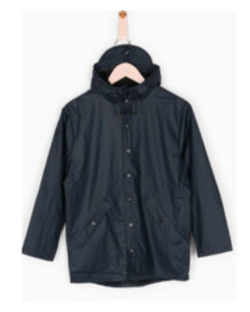 Grunt Raincoat Drop Navy