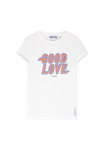 Nik & Nik T-shirt Good G 8-624 1902 gebroken wit