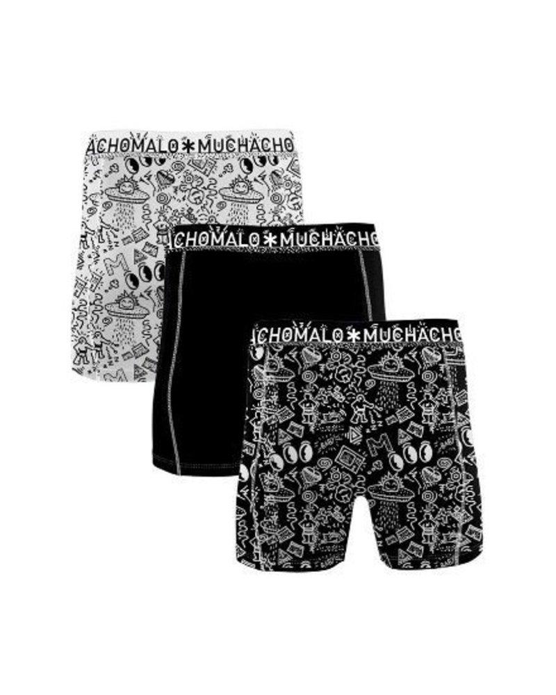 Muchachomalo Muchachomalo Shorts Iconic Art