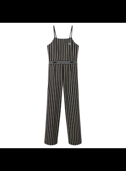 Calvin Klein Stripe strap jumpsuit