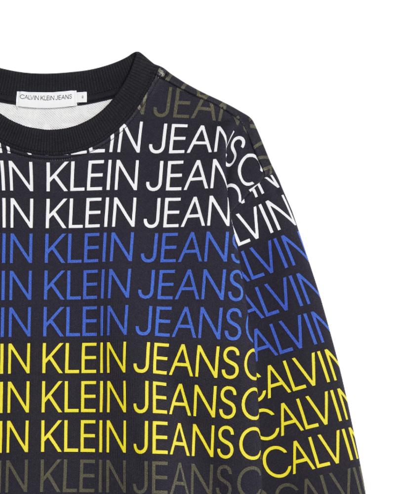 Calvin Klein Calvin Klein Logo aop sweatshirt