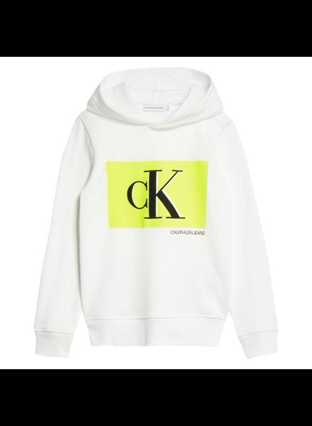 Calvin Klein Monogram contrast hoodie