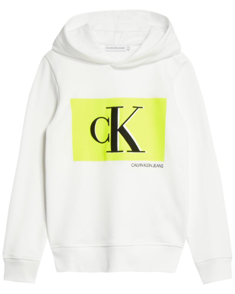 Calvin Klein Calvin Klein Monogram contrast hoodie