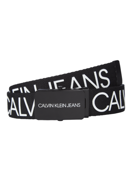 Calvin Klein Canvas logo belt