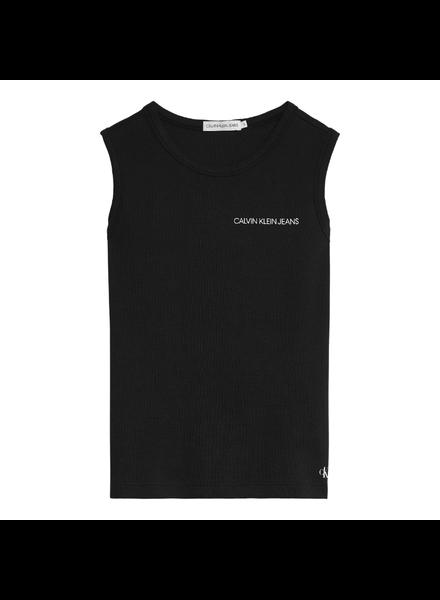 Calvin Klein Waffle sleeveless top