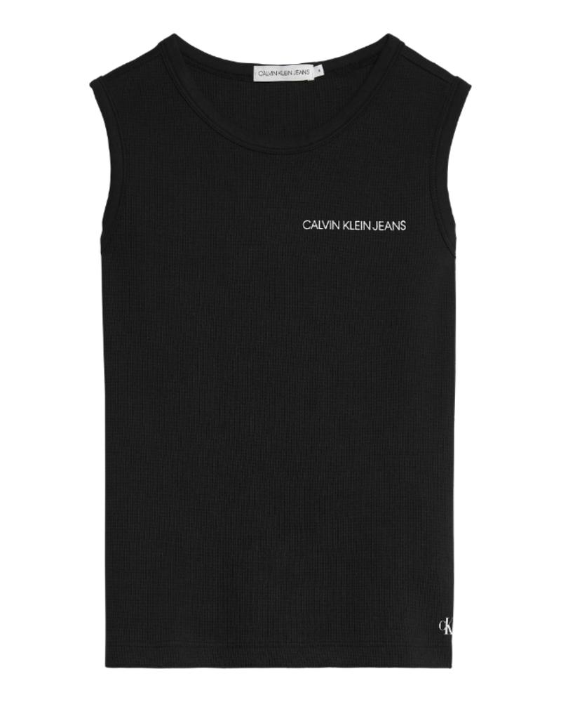 Calvin Klein Calvin Klein Waffle sleeveless top