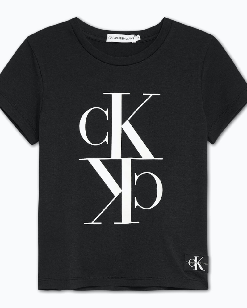Calvin Klein Calvin Klein Monogram cropped t-shirt