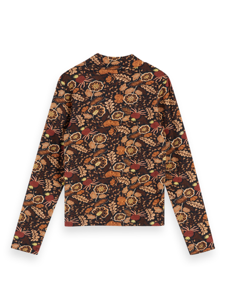 Scotch & Soda All-over printed long sleeve tee