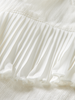 Scotch Rebelle Scotch Rebelle Loose shirt lace and sport details Off White