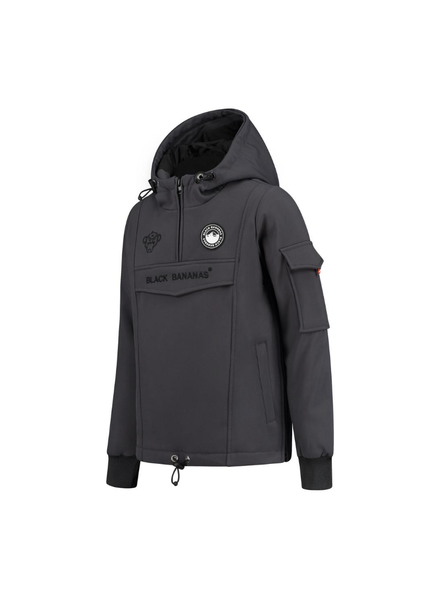 Black Bananas JR F.c. Anorak Fleece Jacket