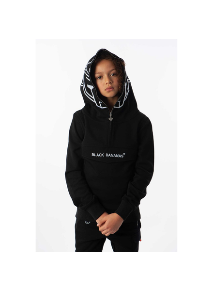 Black Bananas JR Incognito Hoody zwart