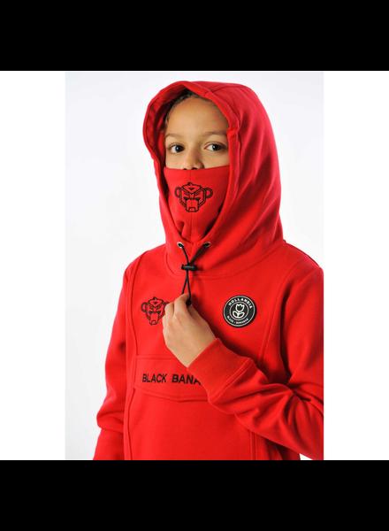 Black Bananas JR Mask Hoody rood