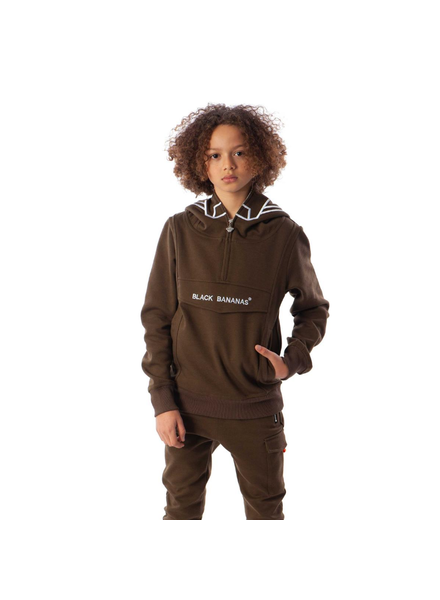 Black Bananas JR Incognito Hoody Groen