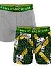Muchachomalo Muchachomalo Shorts 2-pack Panda  grijs