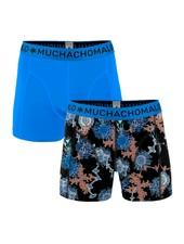 Muchachomalo Shorts 2-pack Mold blauw