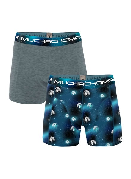 Muchachomalo Shorts 2-pack Moon