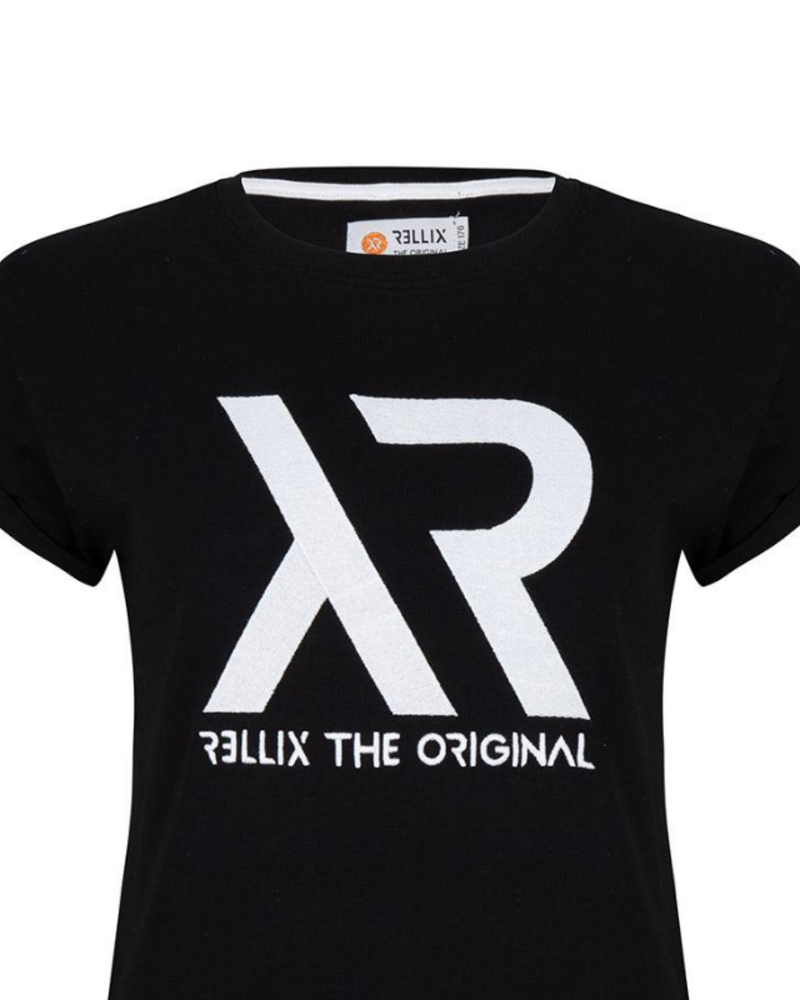 Rellix Rellix Cropped tee zwart