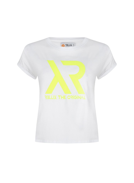 Rellix Cropped tee wit