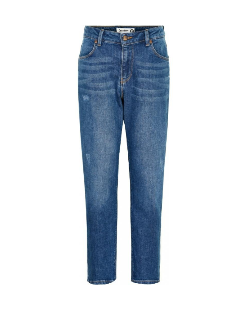 Cost:bart Cost:bart Erna mom fit jeans blauw