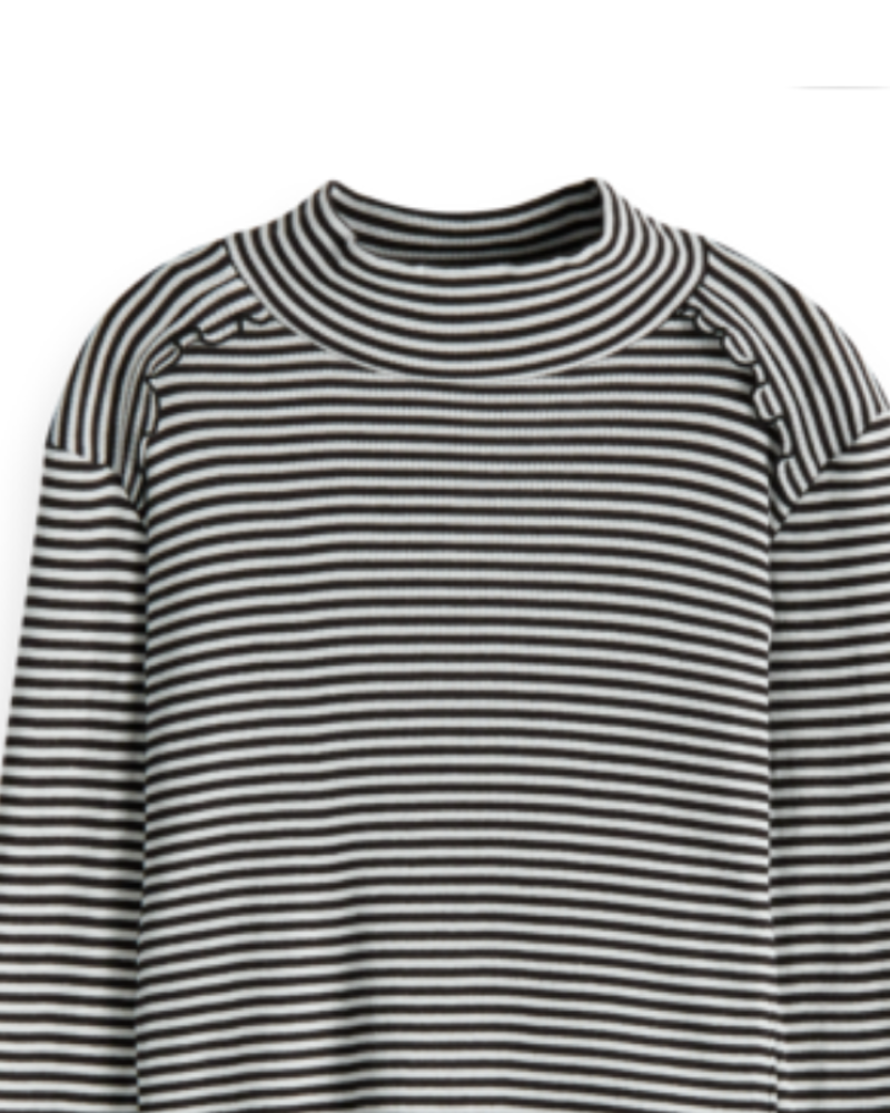 Scotch Rebelle Scotch Rebelle Fitted long sleeve tee stripes