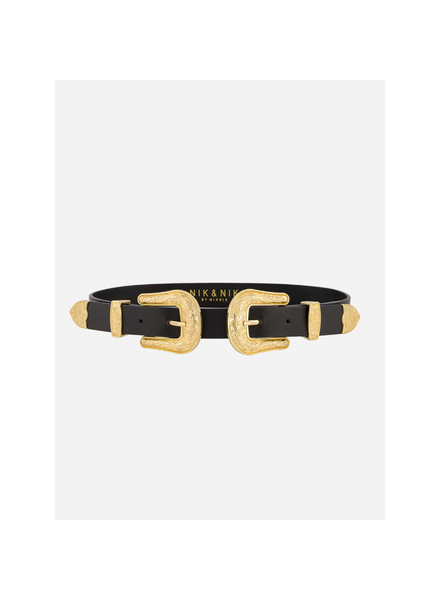 Nik & Nik Bia 2-Buckle Belt