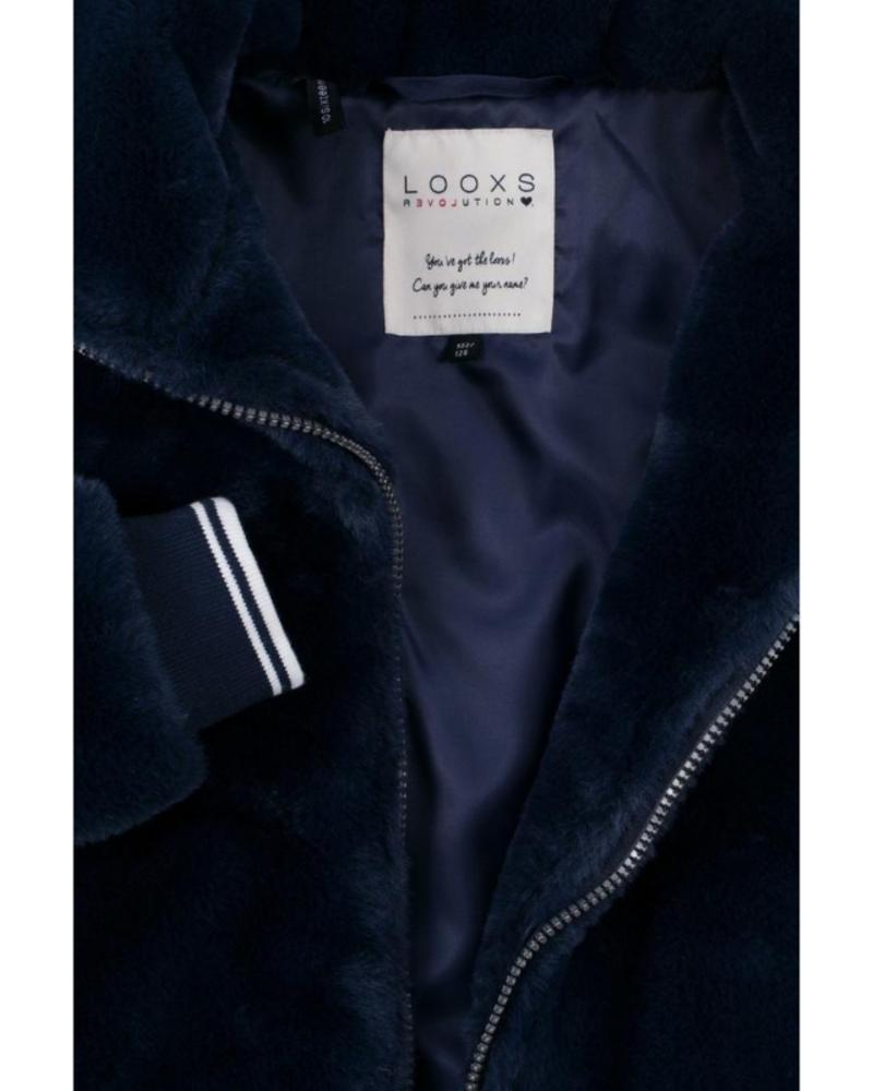 Looxs Revolution Looxs Revolution Girls Fur short jacket