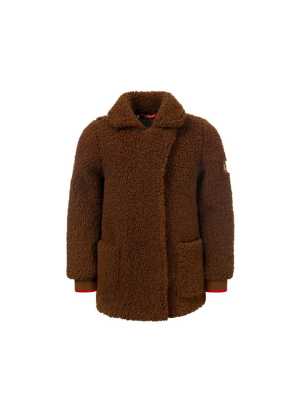 Looxs Revolution Girls Long teddy jacket